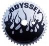 Odyssey flame chrome/black